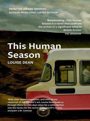 cover image of This Human Season
