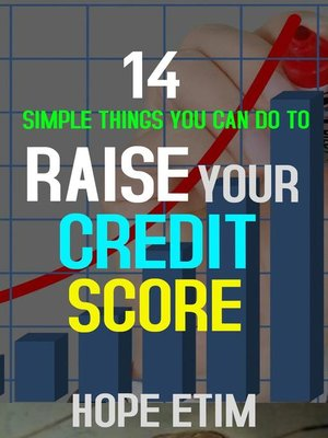 cover image of 14 Simple Things you can do to Raise Your Credit Score