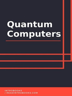 cover image of Quantum Computers