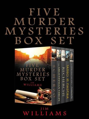 cover image of Five Murder Mysteries Box Set