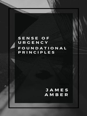 cover image of Sense of Urgency