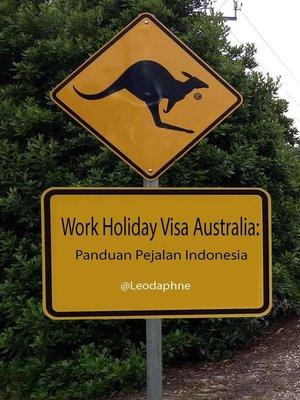 cover image of Work & Holiday Visa Australia