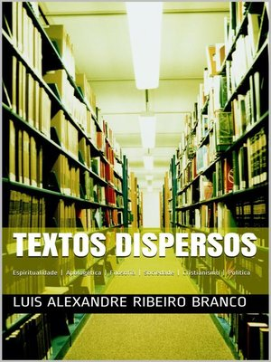 cover image of Textos Dispersos