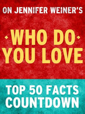 cover image of Who Do You Love
