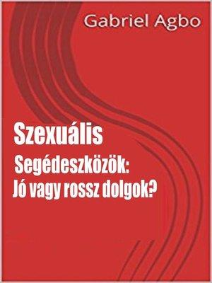 cover image of Szexuális segédeszközök