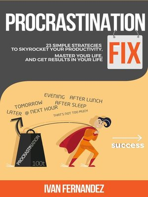 cover image of Procrastination Fix
