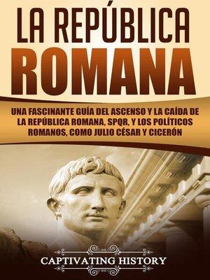 cover image of La República Romana