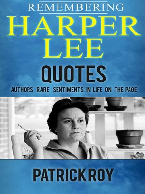 cover image of Remembering Harper Lee