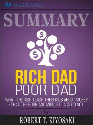 cover image of Summary of Rich Dad Poor Dad
