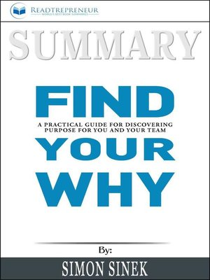 cover image of Summary of Find Your Why