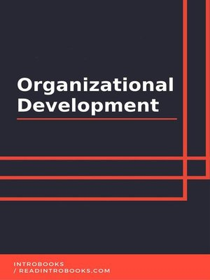 cover image of Organizational Development