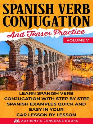 cover image of Spanish Verb Conjugation and Tenses Practice Volume V