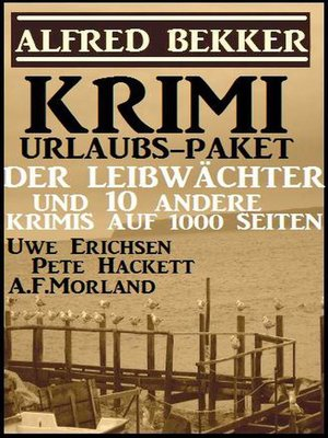cover image of Krimi Urlaubs-Paket