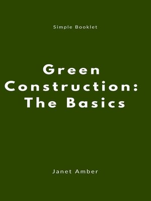 cover image of Green Construction