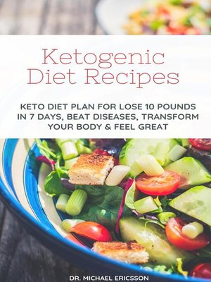 cover image of Ketogenic Diet Recipes