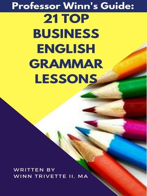 cover image of 21 Top Business English Grammar Lessons