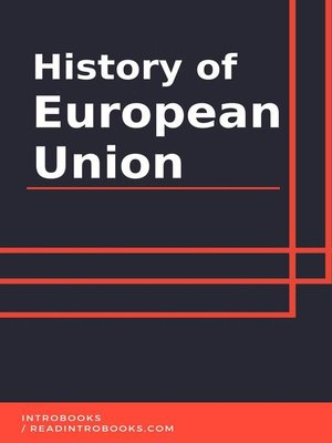 cover image of History of European Union