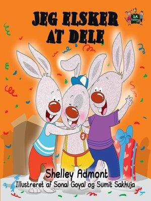 cover image of Jeg elsker at dele