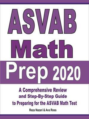cover image of ASVAB Math Prep 2020