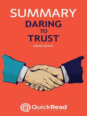 """cover image of Summary of """"Daring to Trust"""" by David Richo"""