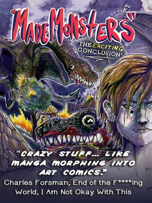 "cover image of ""Made Monsters"" the Exciting Conclusion"