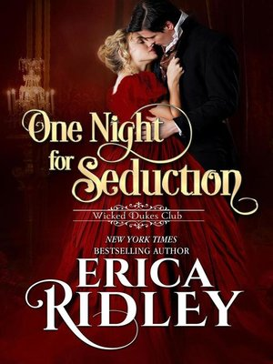cover image of One Night for Seduction