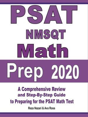 cover image of PSAT / NMSQT Math Prep 2020