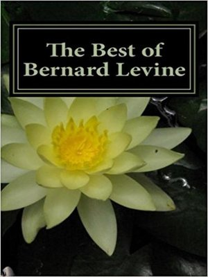 cover image of The best of Bernard Levine