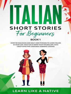cover image of Italian Short Stories for Beginners Book 1