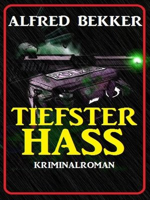 cover image of Tiefster Hass