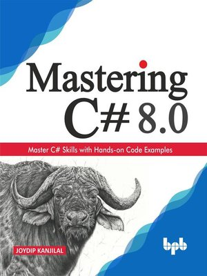 cover image of Mastering C# 8.0