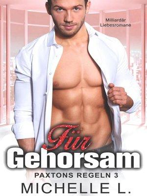 cover image of Für Gehorsam