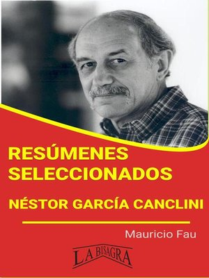 cover image of Néstor García Canclini