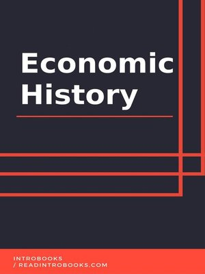cover image of Economic History