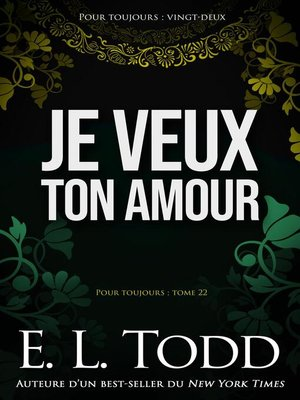 cover image of Je veux ton amour