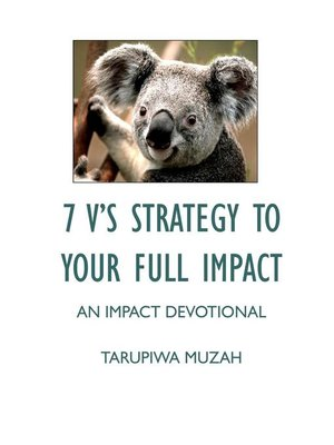 cover image of 7 V'S Strategy to Your Full Impact