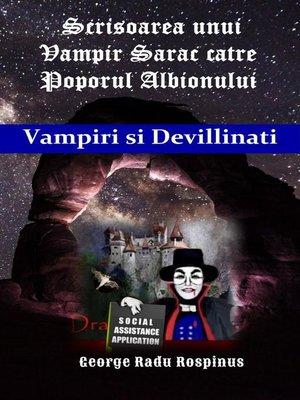 """cover image of Scrisoarea unui """"Vampir Sarac"""" pentru Poporul Albionului"""