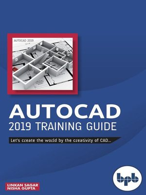 cover image of AutoCAD 2019 Training Guide