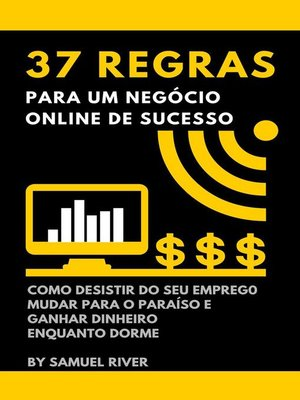 cover image of 37 Regras para um Negócio Online de Sucesso