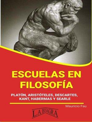 cover image of Escuelas en Filosofía
