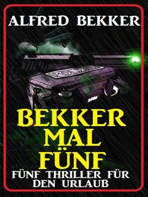 cover image of Bekker mal fünf