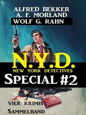 cover image of Sammelband 4 Krimis N.Y.D.--New York Detectives Special #2