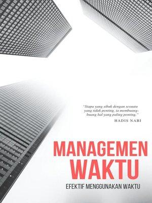 cover image of Manajemen Waktu