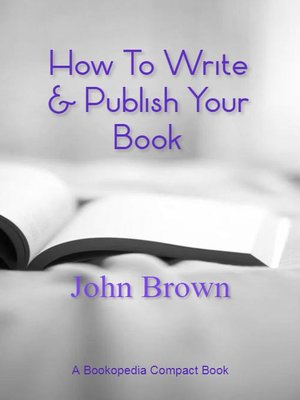 cover image of How to Write & Publish Your Book