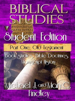 cover image of Biblical Studies Student Edition Part One