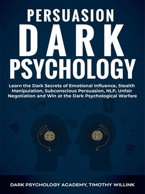 cover image of Persuasion Dark Psychology