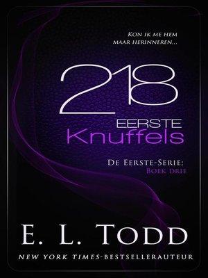 cover image of 218 Eerste Knuffels