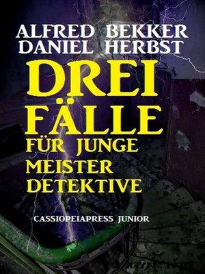 cover image of Drei Fälle für junge Meisterdetektive