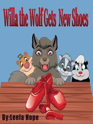 cover image of Willa the Wolf Gets New Shoes