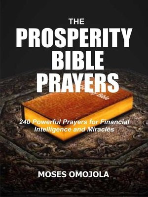 cover image of The Prosperity Bible Prayers
